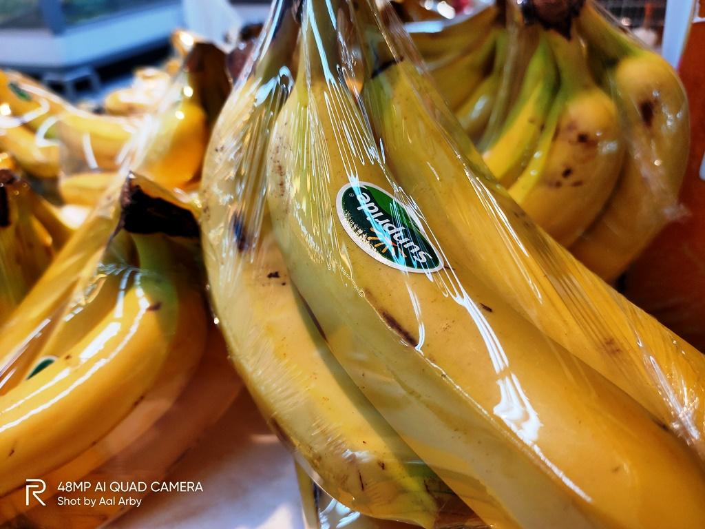 Buah pisang Sunpride, Higienis dan ramah lingkungan dan cocok menemani new normal di rumah saja I Dokumentasi Pribadi
