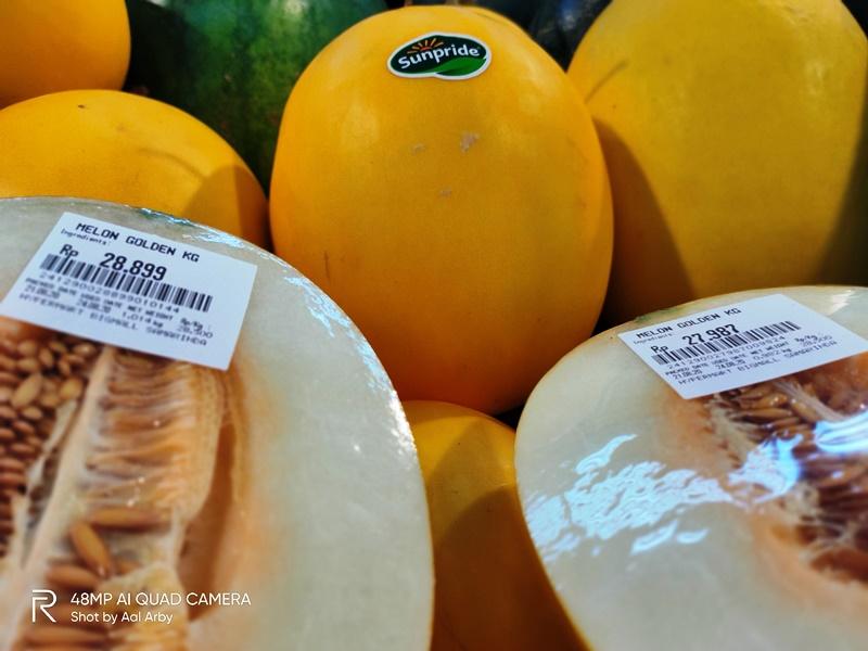 Produk buah segar Sunpride lainnya, yang mudah ditemukan di Samarinda, dan memduahkan kita menjalani new normalI Dokumentasi Pribadi
