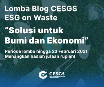 Sustainable investing merupakan kunci bagi agenda lingkungan ke depan